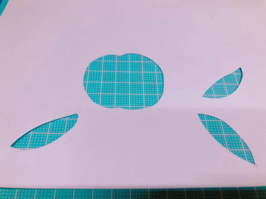 パステルアート 型紙